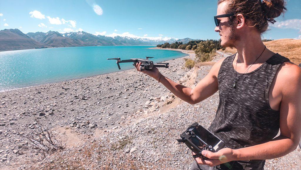 Tout savoir sur le drone en Nouvelle Zélande
